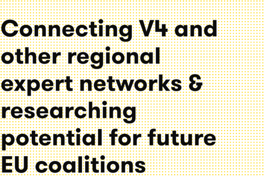 Connecting V4 and other regional expert networks