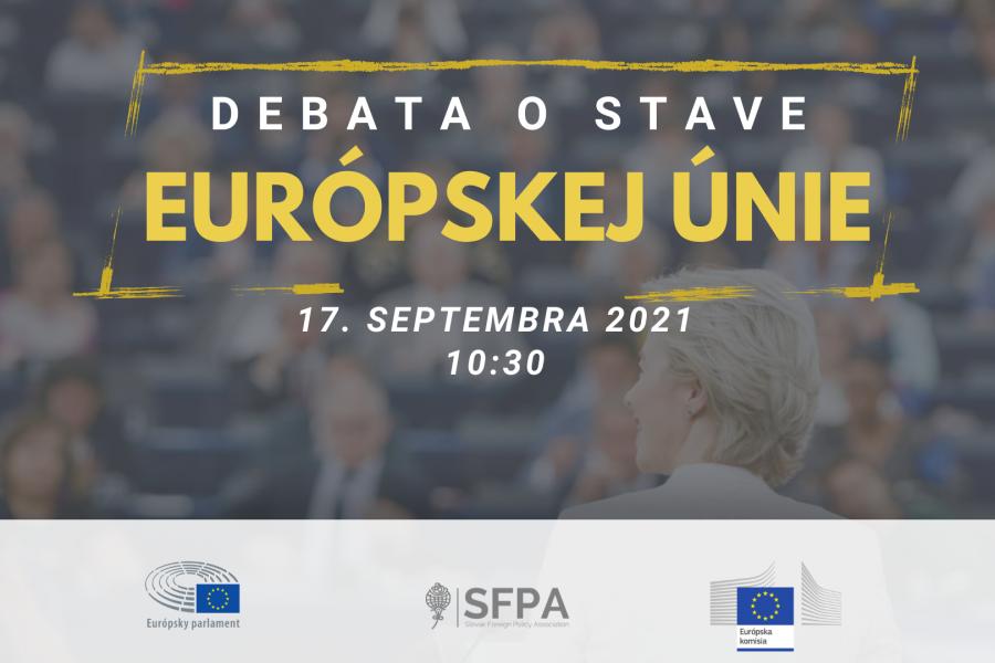 Debata o stave Európskej únie 2021