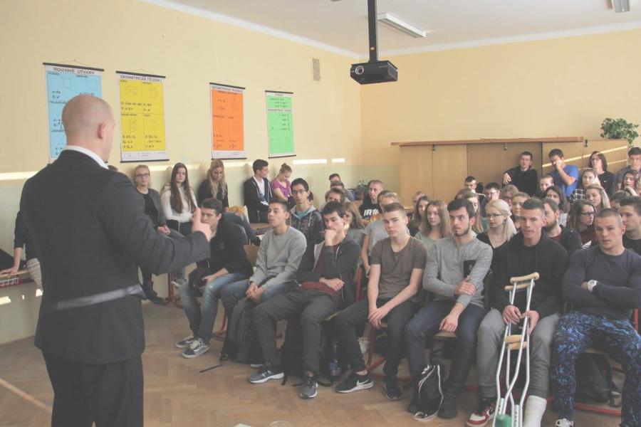 Európa v nás – Prednáškový cyklus po stredných školách